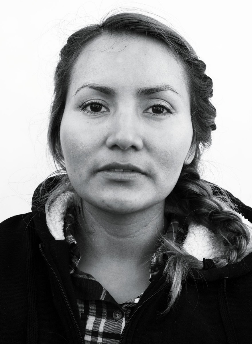 Sylvia Elizza, 32, Oaxaca, Mexico. 9/19/2015, Ted Williams Vineyard, Santa Rosa. (Photo by Erik Castro)